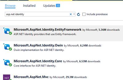 Asp Net Identity in Asp Net MVC 5 0 - Customizing