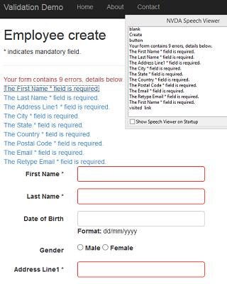 Make Asp Net MVC Clientside(jquery validate js) Form