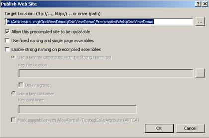 Web Deployment Project for Visual Studio 2005 and 2008