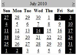 How to highlight or make selected date not selectable in ASP.Net Calendar control?