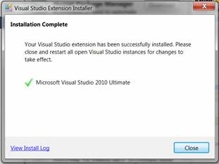 How to install NuGet in Visual studio 2010