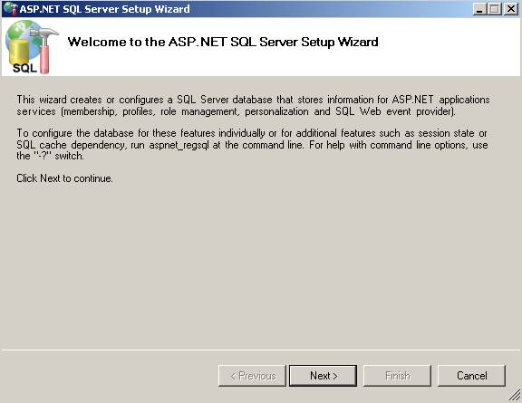 how to connect database using web config in asp net
